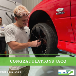 Jacques got offered a full-time position with Pendars Automotive